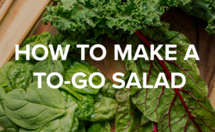How To Make a To Go Salad